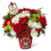 FTD I'll Jingle to That Bouquet - 17-C7p