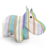 Zuny Kaleidoscope Hippo Stripe Blue/Purple/Green