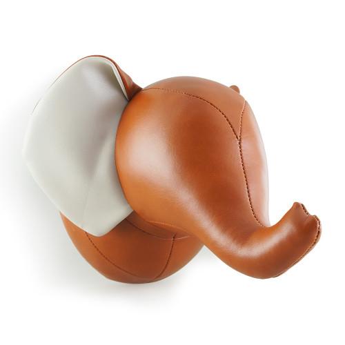 Zuny Wallmount Abby the Elephant Tan/Wheat