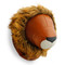 Zuny Wallmount Lino Lion - Tan/Wheat