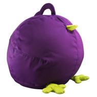 Zuny Small Pica Bean Bag Cover - Purple/Green