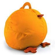Zuny Medium Pica Bean Bag Cover - Yellow/Tan