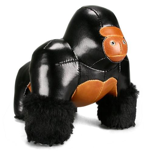 Milo the Gorilla Bookend - Black