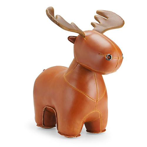Zuny Rudo Moose Bookend
