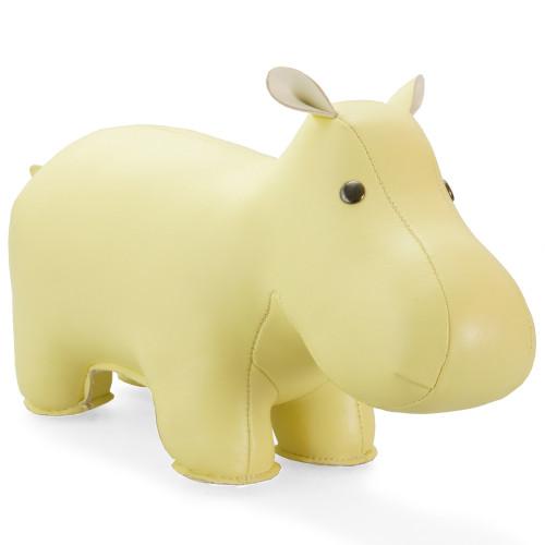 Classic Hippo Bookend - Cream