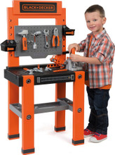 Smoby Black And Decker Kids Bricolo One Toy Workbench (360700)