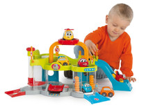 Vroom Planet Kids Toy Car My First Garage Play Set