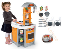 Smoby Cuisine Tefal Studio Kids Play Kitchen in Orange comes complete with utensils, mod cons and accessories!