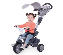 Smoby Grey Baby Driver Comfort with young rider