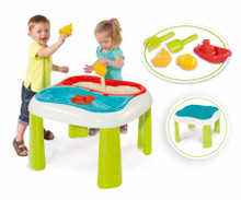 The New Smoby kids sand table with bright new colours
