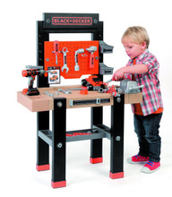 Smoby Black and Decker Children's Bricolo Workbench Centre (360701)