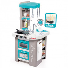 The Smoby Mini Tefal Studio Play Kitchen Bubble is a great way for your children to experience using their own kitchen