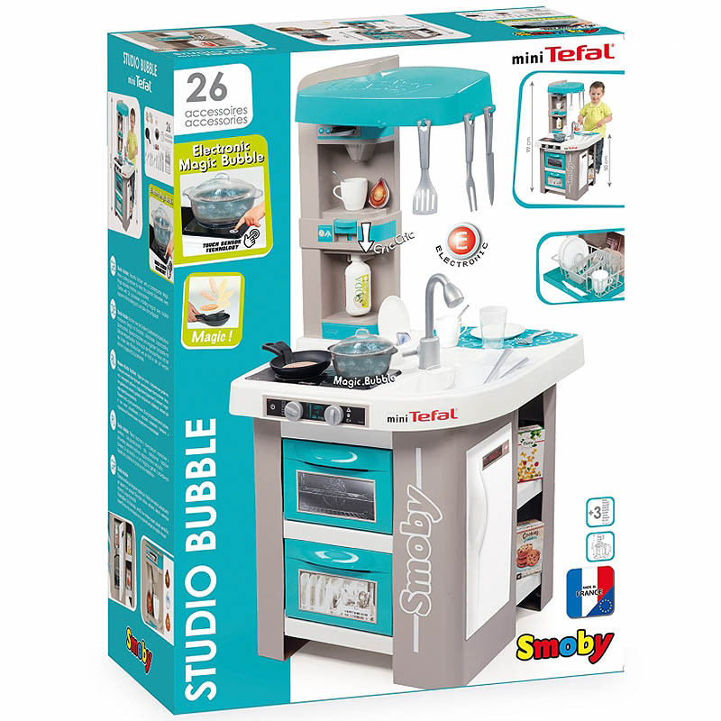 Smoby Tefal Bubble Studio Kids Toy Kitchen
