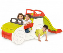 Smoby kids adventure car play centre in use.