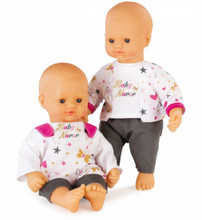 Smoby Baby Nurse Doll available with 2 outfit options