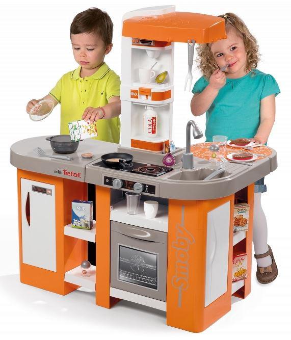 Smoby Childrens Tefal Cuisine Studio Xl Magic Bubble Kids Kitchen