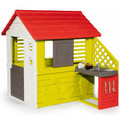 Smoby Nature Childrens Playhouse + Kitchen Indoor and Outdoor Kids