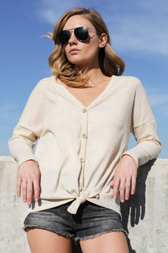 The L/S Thermal Knit, Oatmeal