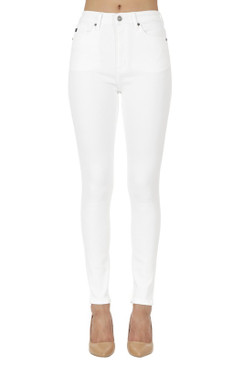 High Rise Stretchy Skinny Jean, White