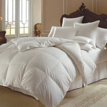 Himalaya 700 or 800 Fill Power White Goose Down European Comforter