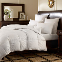 Logana 800 or 920 Fill Power  White Goose Down Batiste Comforter