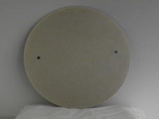 "14"" double sided diamond grinding disc, #120 on one side, #400 on the other"