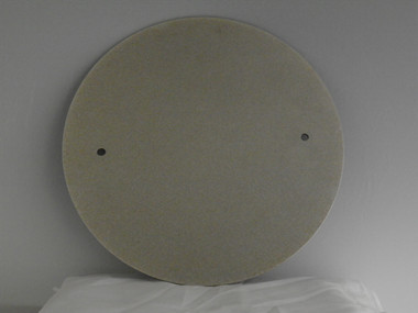 """14"""" double sided diamond grinding disc, #100 on one side, #400 on the other"""