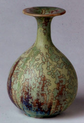 Crystalline Matte Glazed Vase