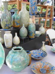 Photo of Crystalline Glazed Pottery