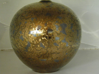 Gold Crystal Vase