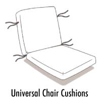 Universal Chair CUSHION Order Form