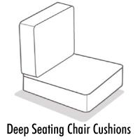 Deep Seating Chair Cushion Order Form