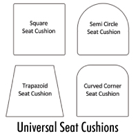 Universal Seat Cushion Order Form