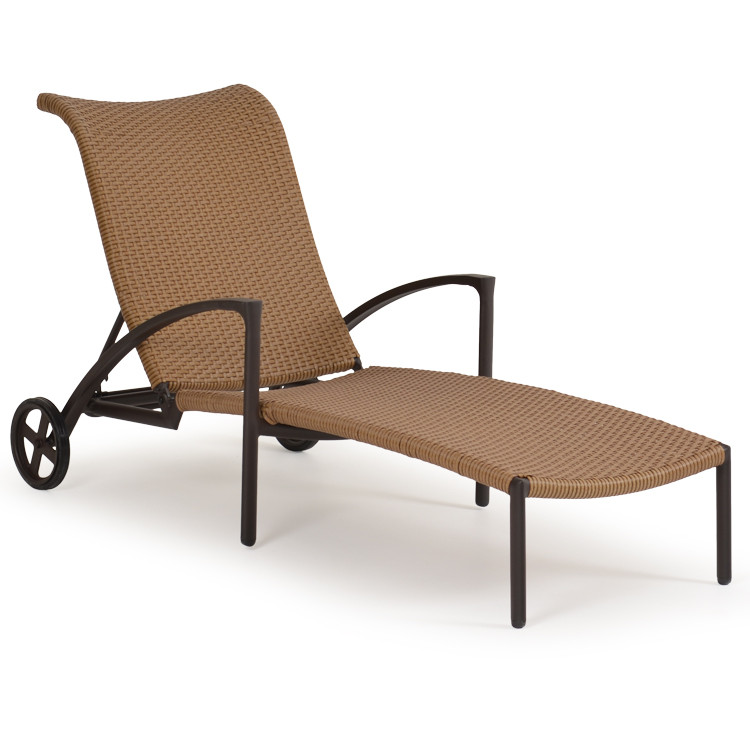 Empire Patio Wicker Chaise Lounge Cork For Sale Leaders