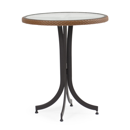 Empire Patio Wicker 30 Quot Round Counter Height Table Cork