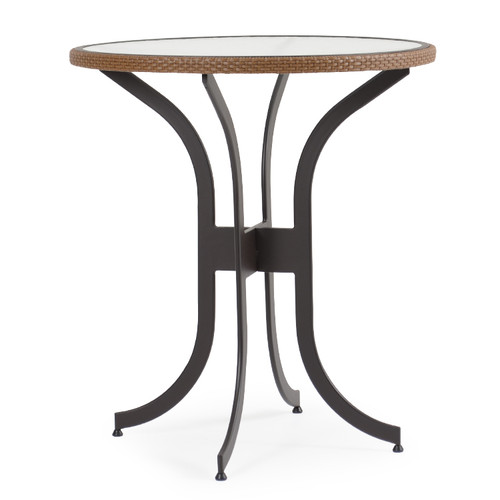 Empire Patio Wicker 36 Quot Round Bar Height Table Cork For