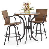 Empire Patio 3 PC  Outdoor Bar Set