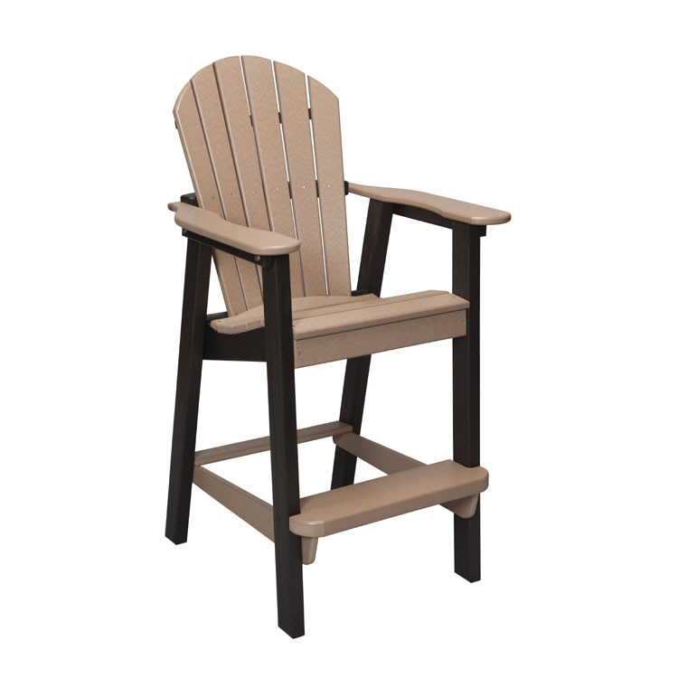 Poly Lumber Patio Bar Height Stool For Sale Leader S