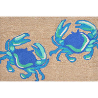 Blue Crabs Welcome Mat