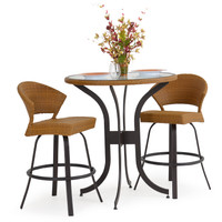 Empire 3Pc. Bar Height Outdoor Set