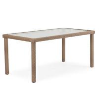 "Kokomo Outdoor Wicker 34"" x 62"" Rectangular patio Dining Table"