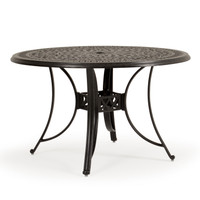 "Charleston Outdoor Cast Aluminum 48"" Dining Table"