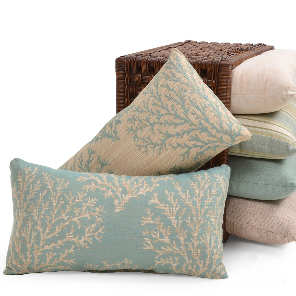 Outdoor Rectangular Throw Pillow For Sale Leaders Furniture