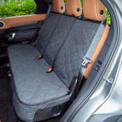 Custom Back Seat in Charcoal Grey