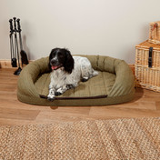 Premier Tweed OTT Dog Bed - Green