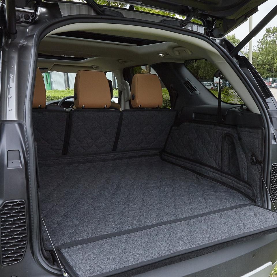 Black Titan Waterproof Car Back Seat Cover to fit Volkswagen T-Roc 2017 Onwards