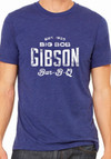 Big Bob Gibson T-Shirt Blue