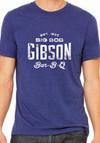 Big Bob Gibson T-Shirt Blue