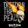 "Pro Drag Tee shirt ""Disturb The Peace"" Large-Black"