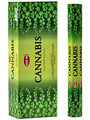 Hem Cannabis Incense Sticks 20gr (hexagonal box)